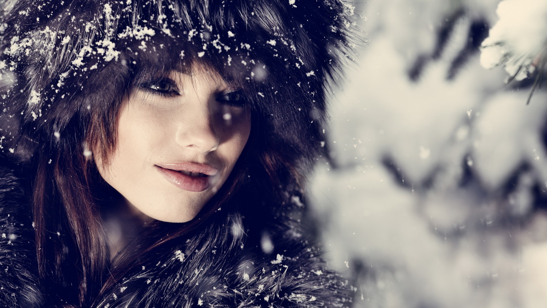winter-fashion-beauty-model-girl-nature-snowflakes-wallpaper-1920x1080